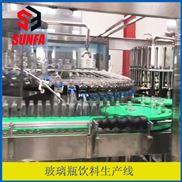 DXGF40-40-12-玻璃瓶 含气饮料灌装机 含气鸡尾酒生产线
