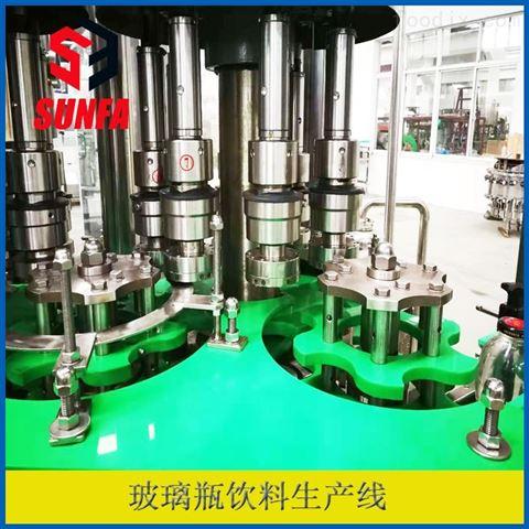 玻璃瓶碳酸饮料灌装机设备