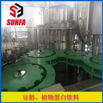 鲜豆奶饮料灌装线   瓶装豆奶生产线