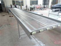 挡板网带输送机厂家 提升爬坡输送