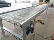 挡板网带输送机厂家直销 水平直线输送