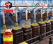 食用大豆油灌装线   柱塞定量灌装机