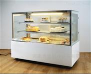 郑州哪里卖蛋糕柜 直角弧形甜点慕斯保鲜柜