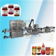 沙拉醬、果醬、蜂蜜灌裝生產線