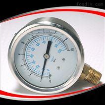 徑向充油壓力表