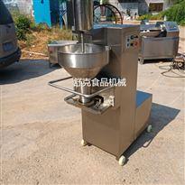 SRW-01多动能肉丸机 鸡肉丸子成型蒸煮冷却流水线