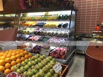 无锡水果店一般使用什么品牌水果风幕柜