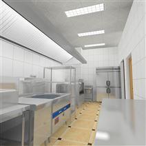吕梁面馆厨房工程设计厨房排烟系统设计