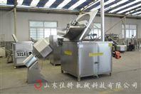 江西江米条油炸机,自动出料油炸机
