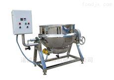 300L厂家供应冰激凌原料可倾搅拌夹层锅