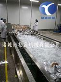 海白菜榨菜包袋装清洗风干线 洗袋机厂家图