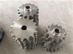 32A不锈钢链轮 1寸双节距链轮 节距50.8