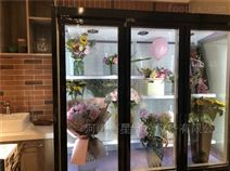 开封周口卖鲜花柜 鲜花保鲜展示柜批发厂家