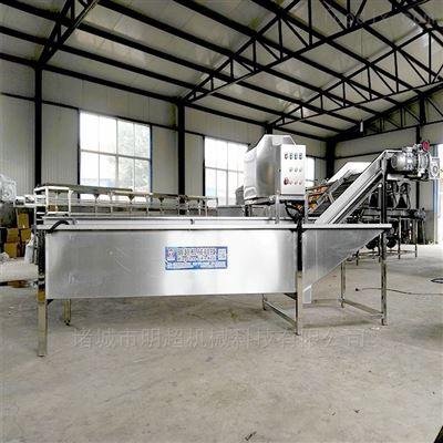 毛豆清洗威尼斯人棋牌工作原理 青刀豆加工生产线工艺流程
