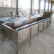 中央厨房菜品加设备 蔬菜净菜加工流水线
