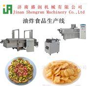 TSE65脆锅巴妙脆角沙拉条油炸食品双螺杆膨化机