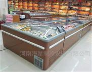 新乡鹤壁丸子海鲜冷冻柜 超市组合岛柜厂家