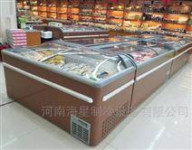 安徽合肥哪里有卖组合岛柜超市冷冻展示柜