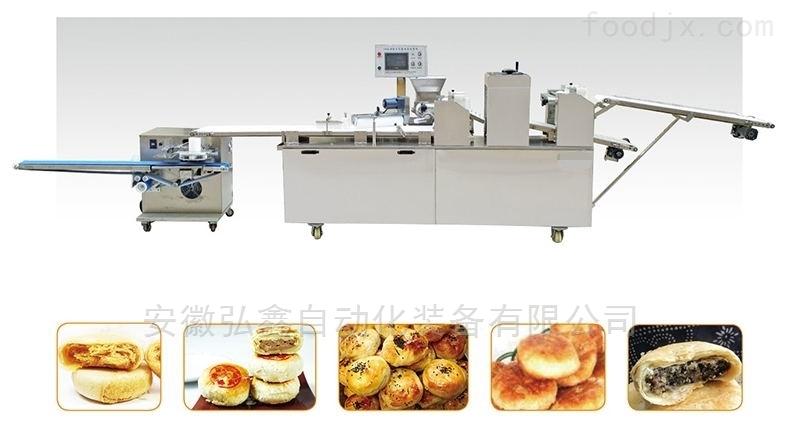 HXSM-III三道擀面老婆饼机