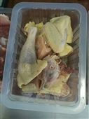 塑料盒裝生鮮雞連續式封口機