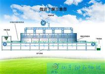 大型装备带式微波化工分体干燥设备