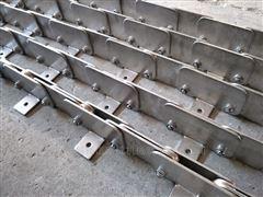 多层往复烘干机挡板式不锈钢链条