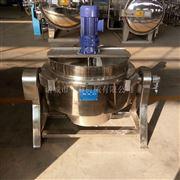 400L不锈钢燃气夹层锅