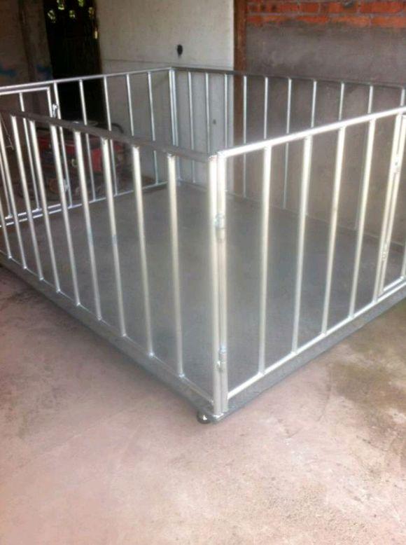 带围栏电子秤专为畜牧业设计的地磅称