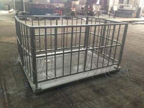 动物秤-带围栏电子秤